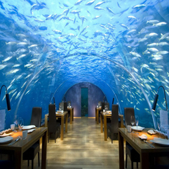 Rangali Island Best Design Restaurant Conrad Maldives - Karbonix