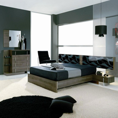 Red Bedroom Furniture With Environmentally Friendly Paint Black - Karbonix