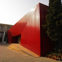 Red Diamond By Chiasmus Architecture LabArchitecture Lab - Karbonix