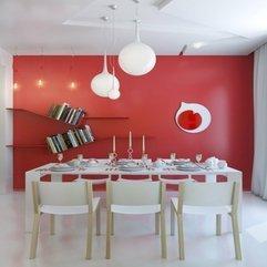 Red Interior Design Of A Small Apartment Home Design Furniture - Karbonix