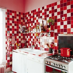 Red Kitchen Ideas Contemporary Fresh - Karbonix