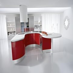 Red Kitchen Ideas Modern Concept - Karbonix