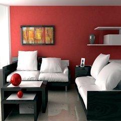 Red Livingroom Miraculous Concept - Karbonix