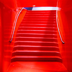 Red Stairs A Photo On Flickriver - Karbonix