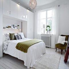 Retro Apartment Design With Black And White Interiors Bedroom - Karbonix