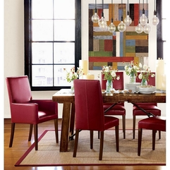 Retro Breathtaking Contemporary Dining Room Style Set With - Karbonix