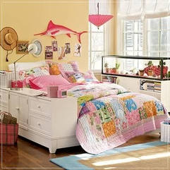 Retro Modish Teen Bedroom Decorating Design Resourcedir - Karbonix