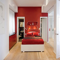 Romantic Apartment Inspiration In Red And White Theme Viahouse - Karbonix