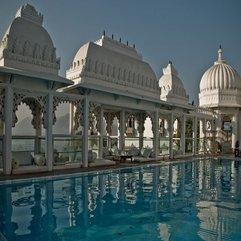 Rooftop Pool India Udaipur Palace - Karbonix