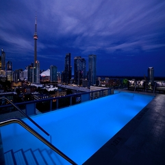 Rooftop Pool Toronto Thompson Hotel - Karbonix