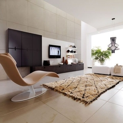 Room Design Spacious Living - Karbonix