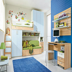 Room Design With Blue Color Scheme Decor Modern Kids - Karbonix