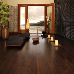 Room Design With Wood Flooring Modern Living - Karbonix
