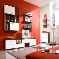 Room Interior Decoration Marvelous Red - Karbonix