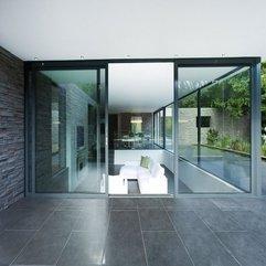 Room Interior Inside Transparent Glazed Door White Living - Karbonix