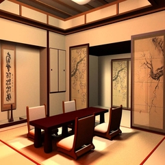 Room Japanese Living - Karbonix