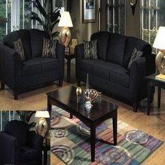 Room Table Sets Black Living - Karbonix