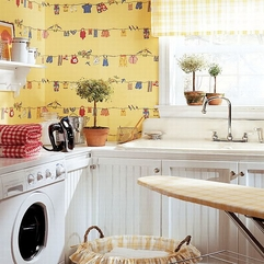 Room Wallpapers Thibaut Laundry - Karbonix