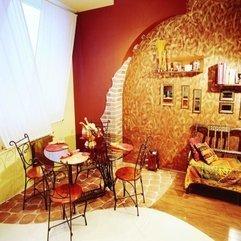 Room With Antique Dining Table Chairs Unique Orange - Karbonix