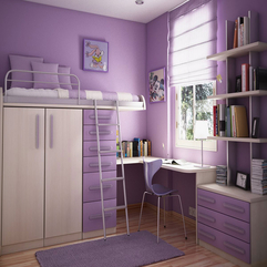 Room With Shelves Ideas Purple Teenage - Karbonix