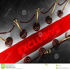 Rope Barrier With Exclusive Red Carpet Royalty Free Stock - Karbonix