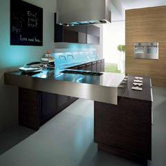 Round Table Kitchen Remodeling Designs Refacing With Blackboard Pedini Modern - Karbonix