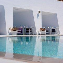 Santorini Hotel Dinner On The Pool Deck Grace - Karbonix