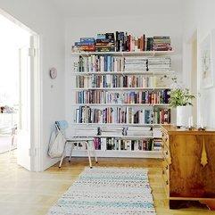 Scandinavian Apartment Deco Library Stunning Interior Design - Karbonix
