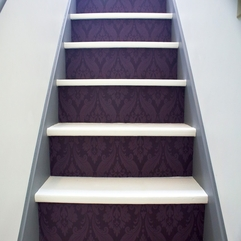 Sensational Stairs Wall With Wallpaper Cozy Creative - Karbonix