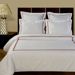 Simple Stripes Bed Cover Luxury Beds - Karbonix