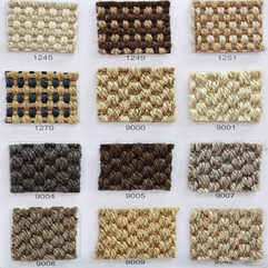 Sisal Carpet Sisal Loop Mini Boucle Natural Carpet Sisal - Karbonix