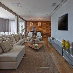 Sleek Warm Interior Apartment LA By David Guerra Design Milk - Karbonix