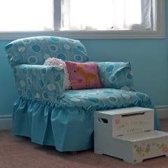 Slipcovers Blue Chair - Karbonix
