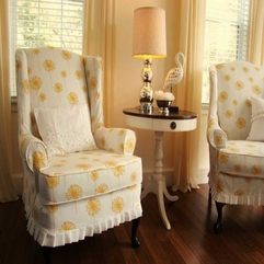 Slipcovers Floral Chair - Karbonix
