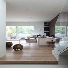 Sofas On Wooden Floor In Living Room Creamy - Karbonix