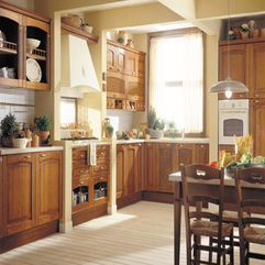 Space Surrounded By Old Time Kitchen Cabinet And Furniture Lightsome Kitchen - Karbonix