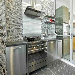 Stainless Steel Kitchen Design Full - Karbonix