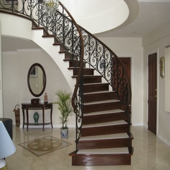 Stair Case With Elegant Touch Curved - Karbonix