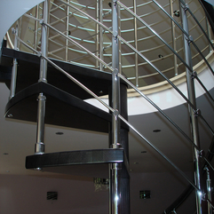 Stairs Shiny Contemporary - Karbonix