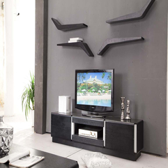 Stand Layout Wooden Tv - Karbonix