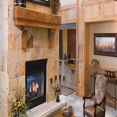 Stone Fireplace Ideas For Living Room In Modern Style - Karbonix