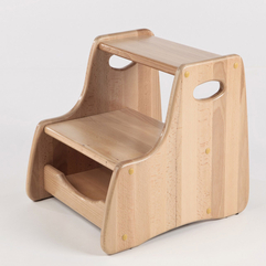 Stool Design Wood Step - Karbonix