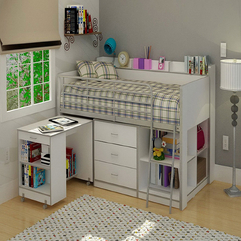 Storage Drawers Underneath For Teenage Girl Bed - Karbonix