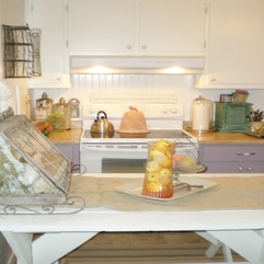 Style Retro Kitchen Renovation Farm - Karbonix