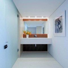 Stylish Modern Minimalist White Bathrooms Chic - Karbonix