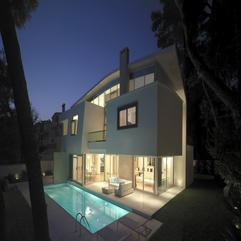 Swimming Pool House Design Modern Greek - Karbonix