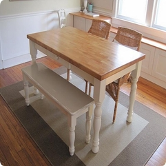 Table With Bench Awesome Dining - Karbonix
