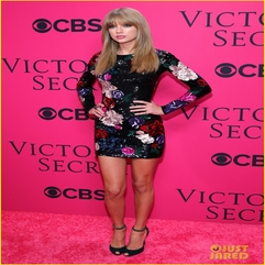 Taylor Swift Victoria 39 S Secret Fashion Show 2013 Pink Carpet - Karbonix