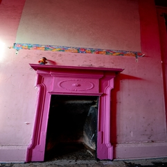 The House Of Extreme Decay A Pink Fireplace Flickr - Karbonix