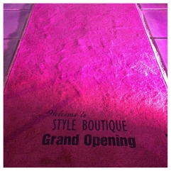 The Pink Carpet Has Been Laid Style Boutique Grand Opening - Karbonix